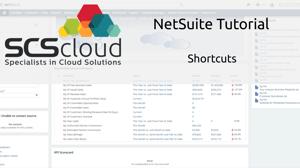 NetSuite Tutorial - Shortcuts-1