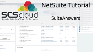 NetSuite Tutorial - SuiteAnswers