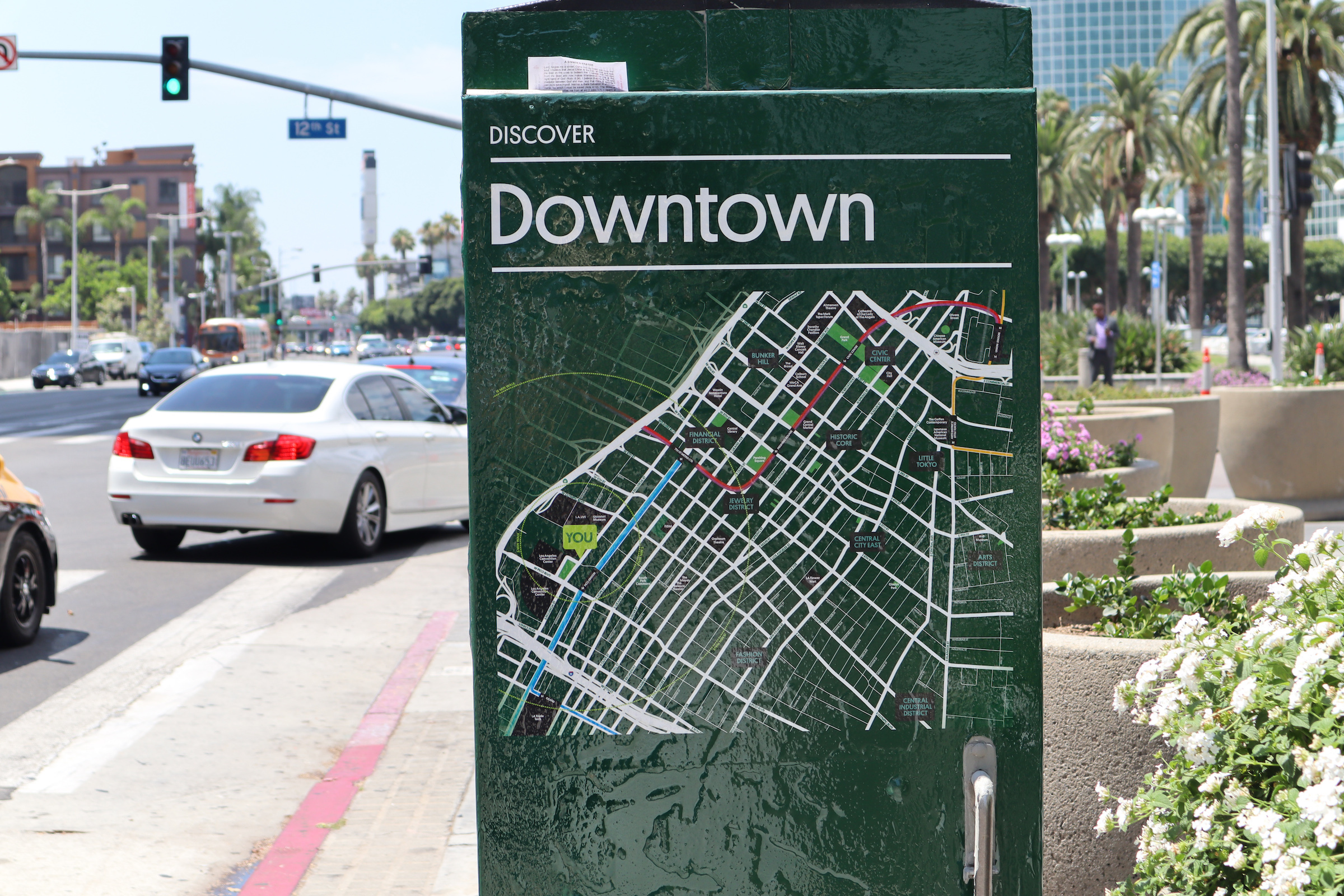 Downtown LA Map